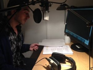 David Dawson recording 'In Search of Chopin'