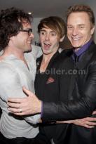 With Ben Daniels and John Light