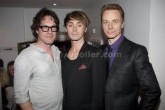 With Ben Daniels and John Light