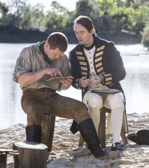As Captain Collins (with Russell Tovey as James Freeman) http://www.farfarawaysite.com/section/3-02-15.htm